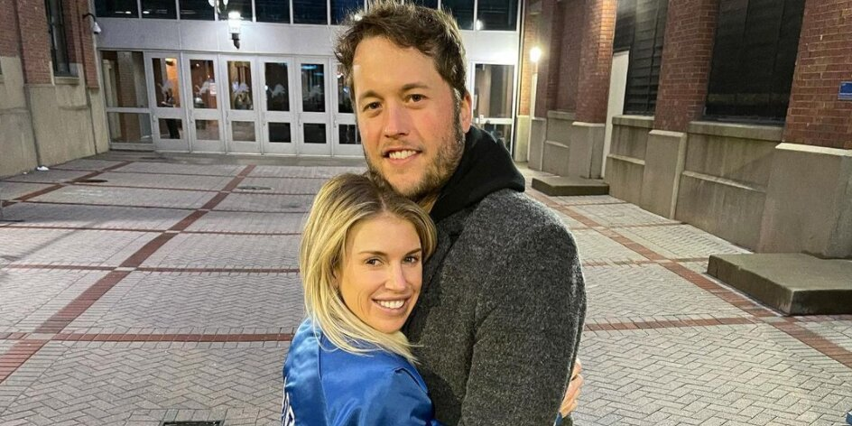 Kelly Stafford Reacts to Husband Matthew Stafford Being Traded From Detroit Lions to L.A. Rams