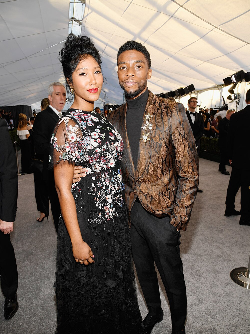 Chadwick Boseman's Wife Simone Ledward Is Appointed Administrator of His  Estate | PEOPLE.com