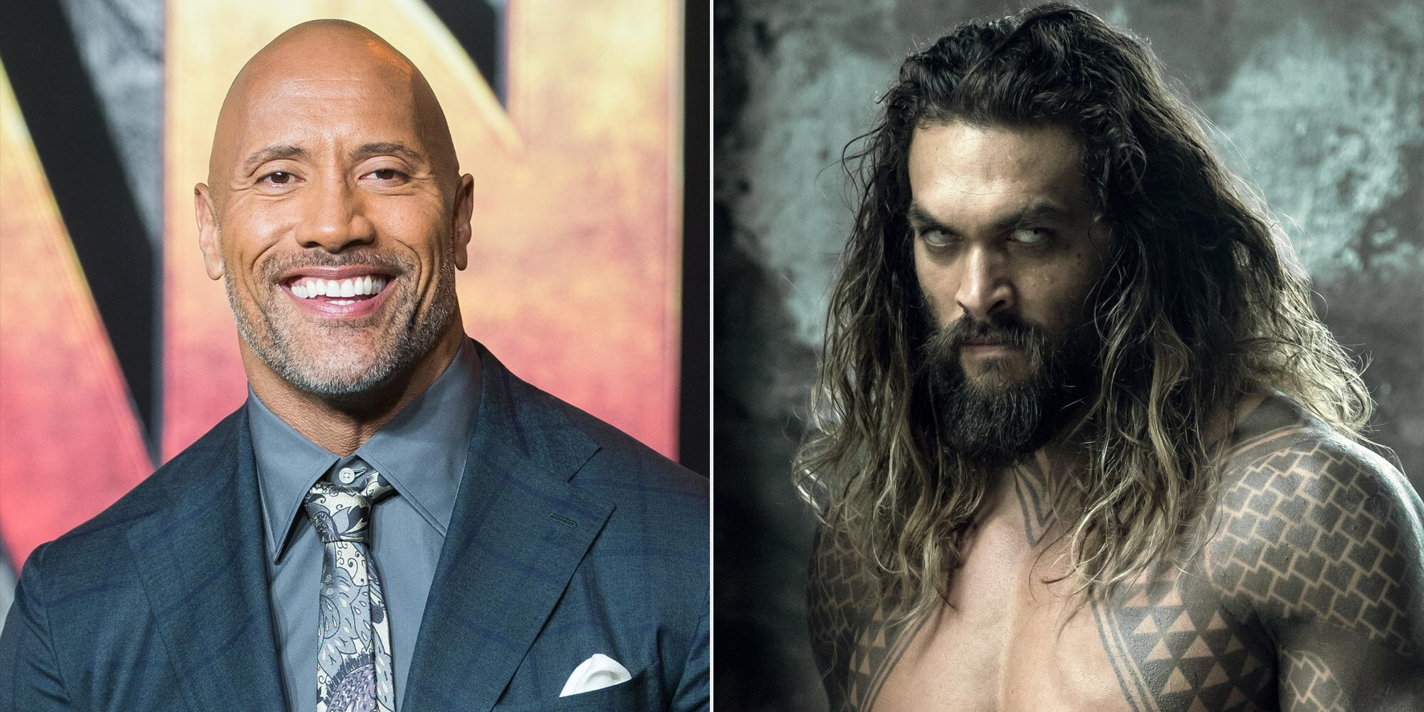 Dwayne Johnson Aquaman.