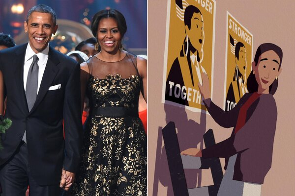 President Barack Obama and First Lady Michelle Obama; We The People