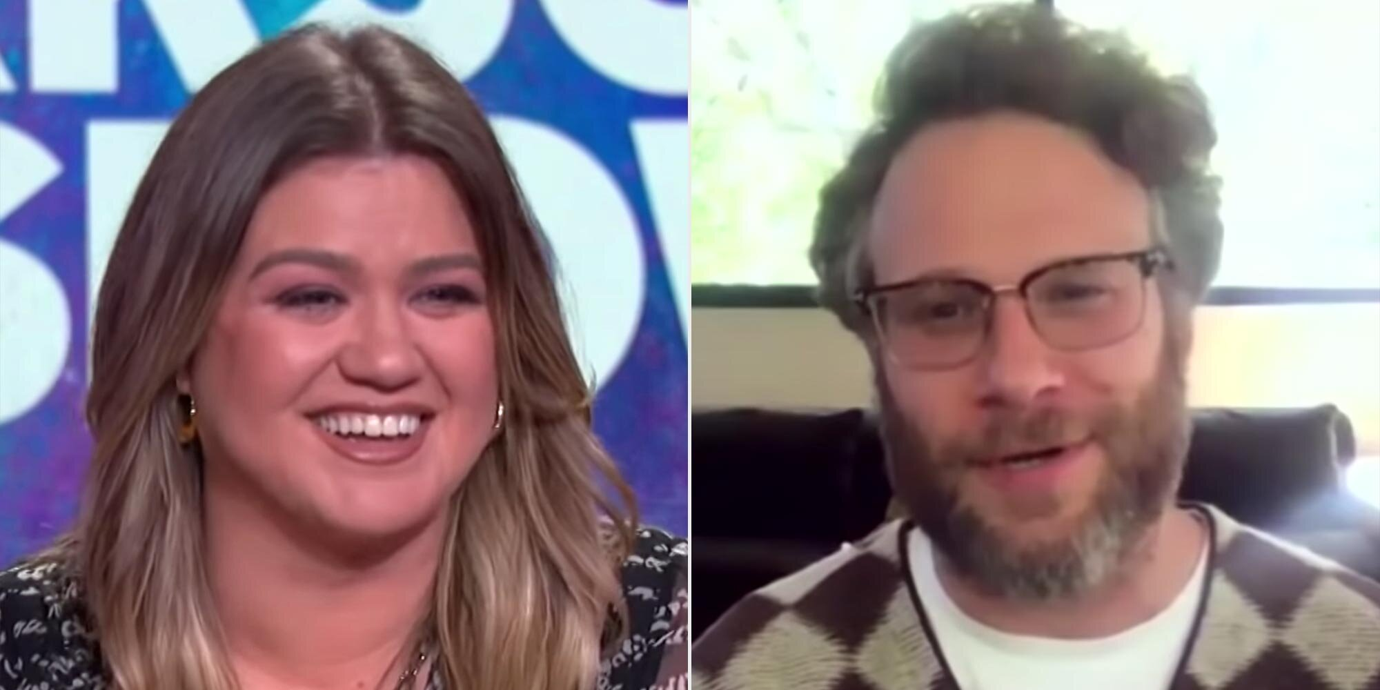 Kelly Clarkson confronts Seth Rogen about the 'ahh, Kelly Clarkson' line in 40-Year-Old Virgin.jpg