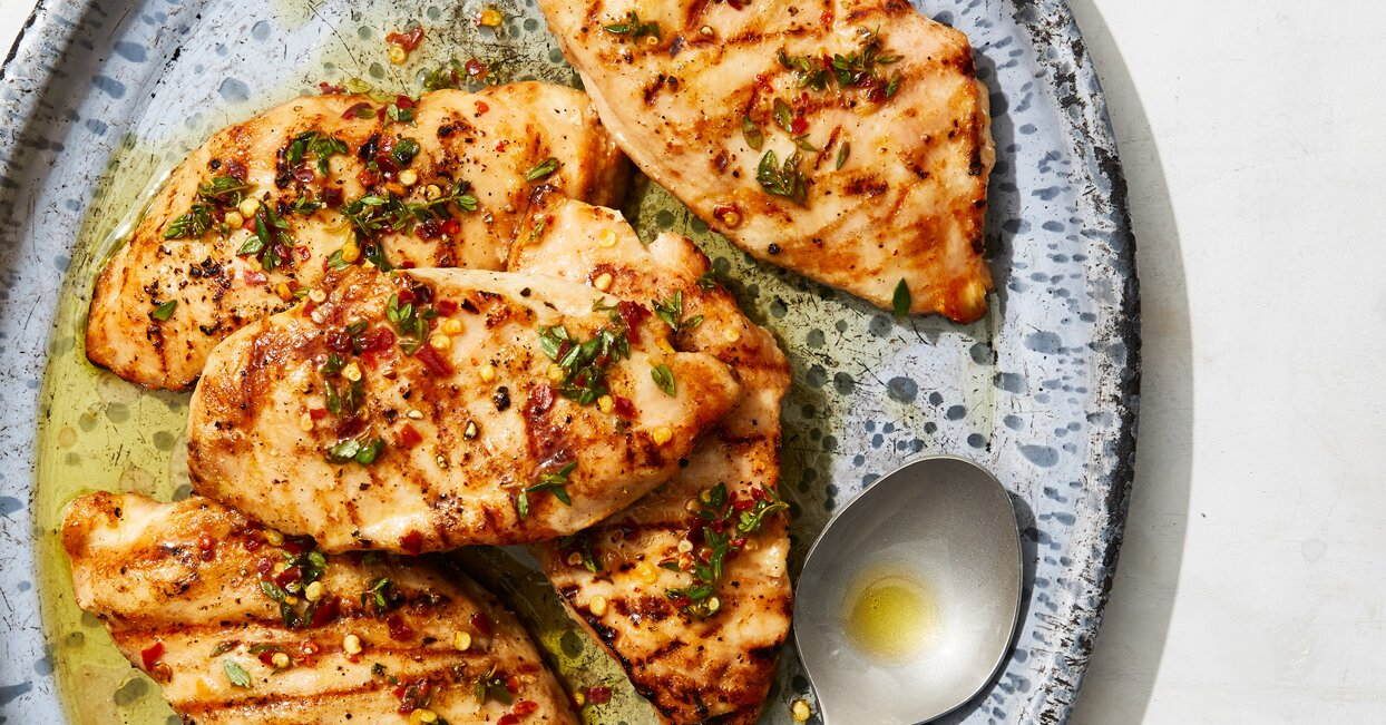 Try Our Simple Technique for Perfect Grilled Chicken Breasts