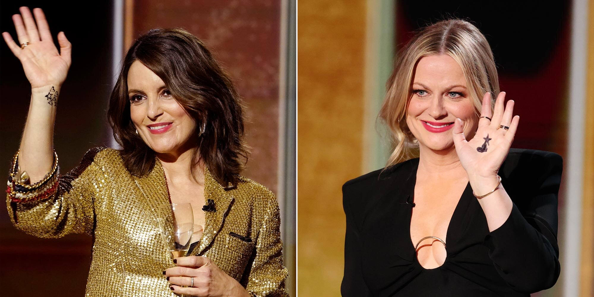 Here's why Amy Poehler and Tina Fey drew hearts and stars on their hands for the Golden Globes.jpg