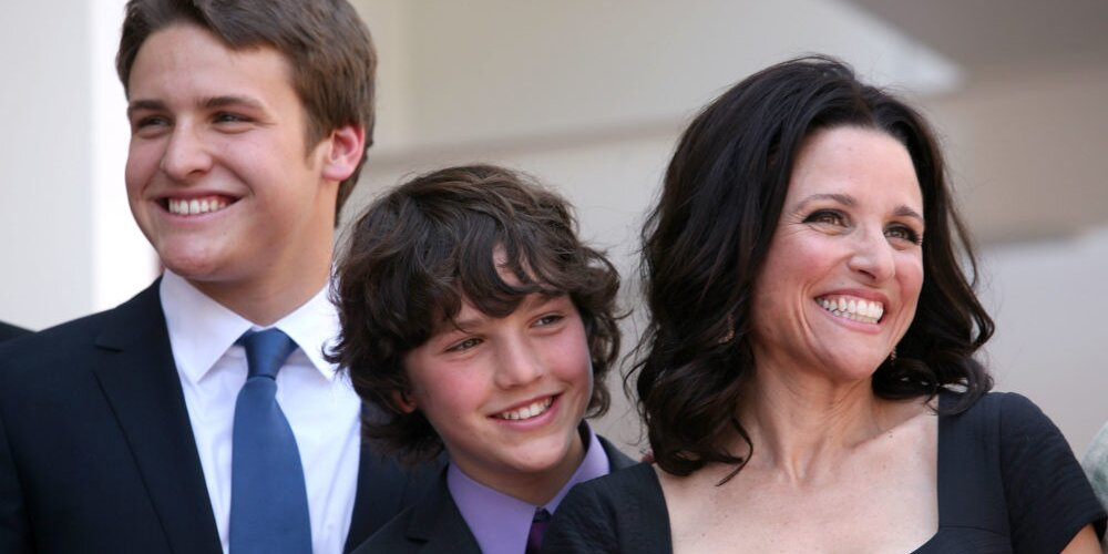 Julia Louis-Dreyfus Shared a Video Her Sons Made for Her Last Day of Chemo, and I'm Not Crying, You're Crying