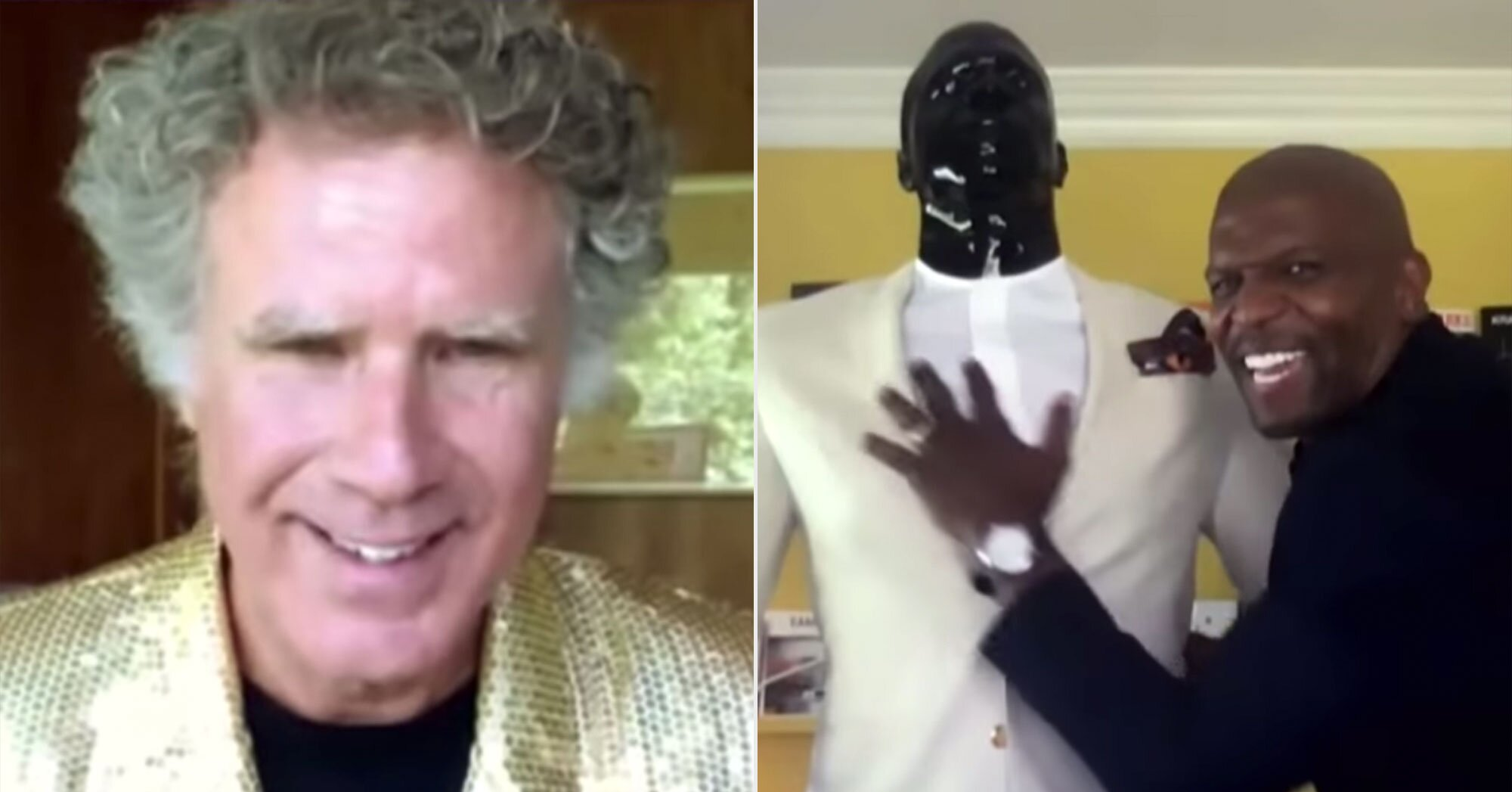 Best of late-night: Will Ferrell displays 'Step Brothers' testicles, Terry Crews shows off mannequins