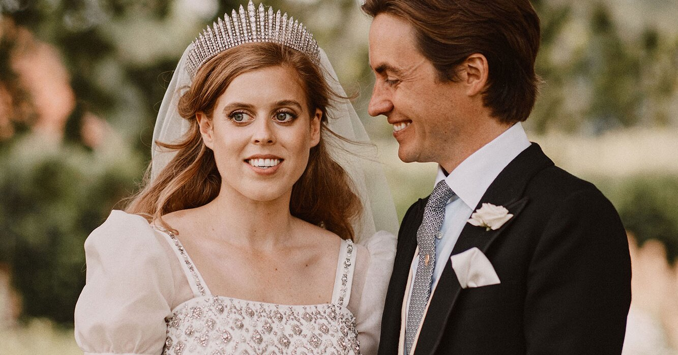 Princess Beatrice Made a Last-Minute 'Request' to Borrow the Queen's Dress for Her Wedding Gown