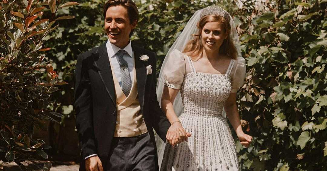 Sarah Ferguson Shared Two New Photos from Princess Beatrice and Edo Mapelli Mozzi's Wedding Day