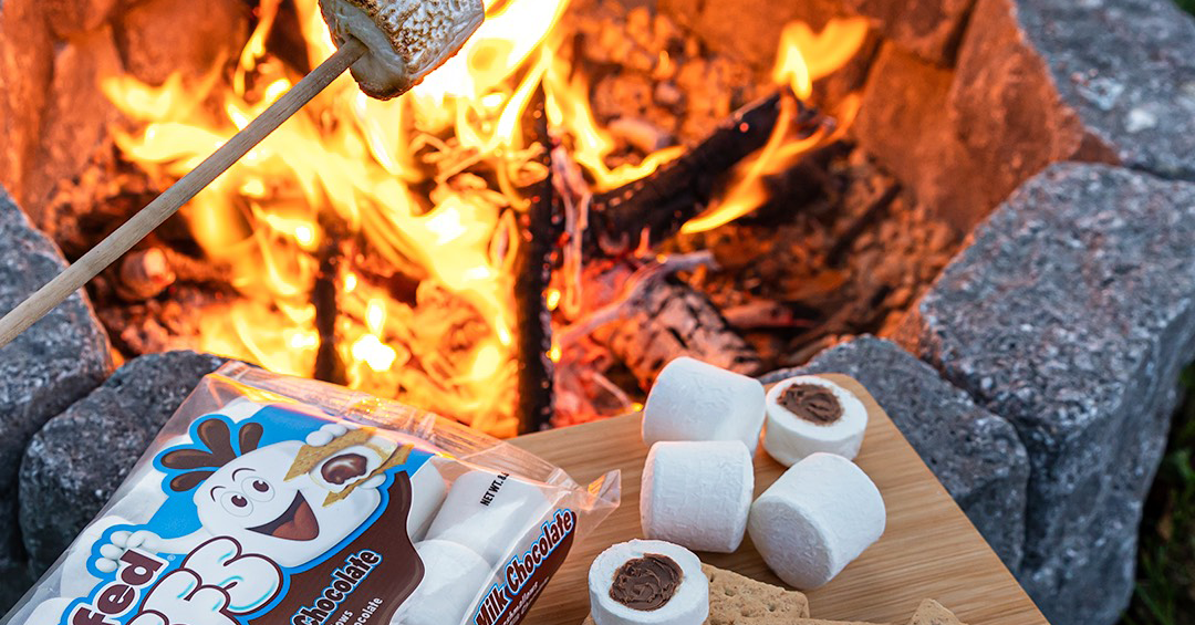 These Chocolate-Stuffed Marshmallows Make the Best S'mores Ever