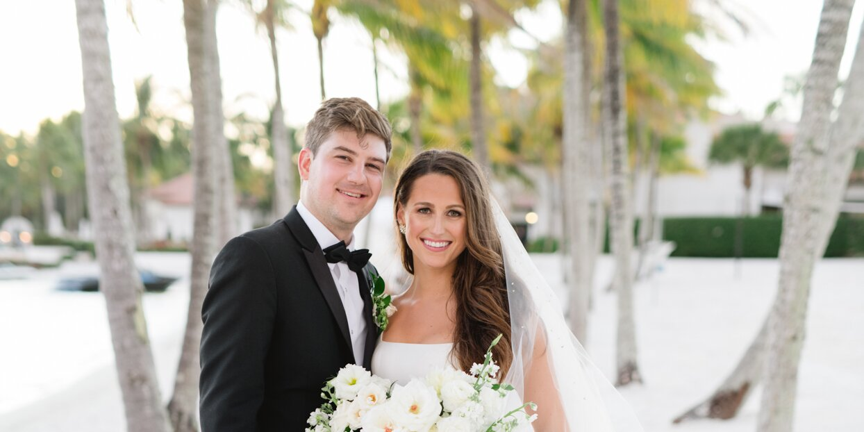 An Intimate New Year's Eve-Themed Wedding in Florida