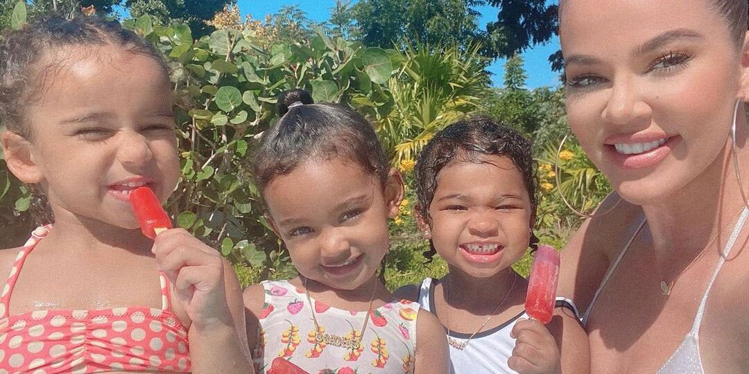 Khloé Kardashian Says True, 3, Thinks Her Cousins Are Her Siblings: 'I Just Pray It Never Stops'.jpg