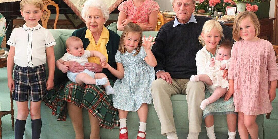 Royal Family Shares Never-Before-Seen Photos of Prince Philip with George, Charlotte and Louis!