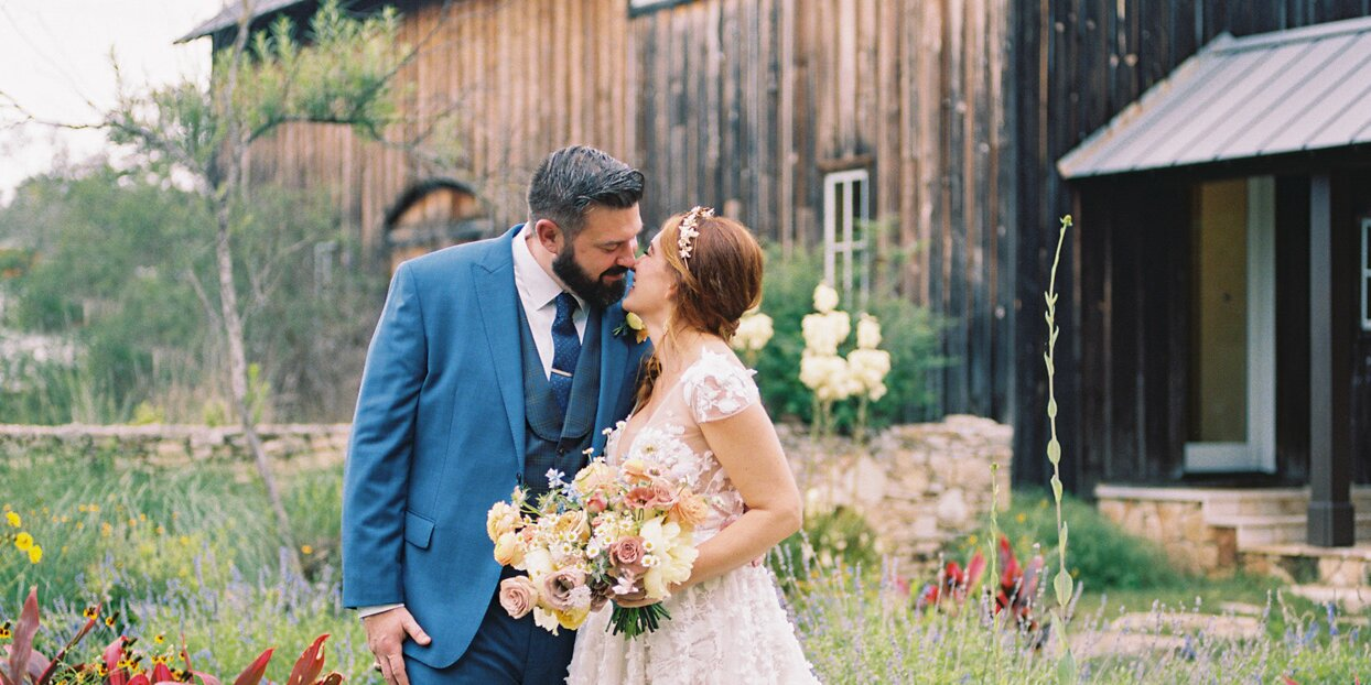 Soft Summer Tones and Beautiful Florals Abounded at This Family-Centric Celebration in Texas Hill Country