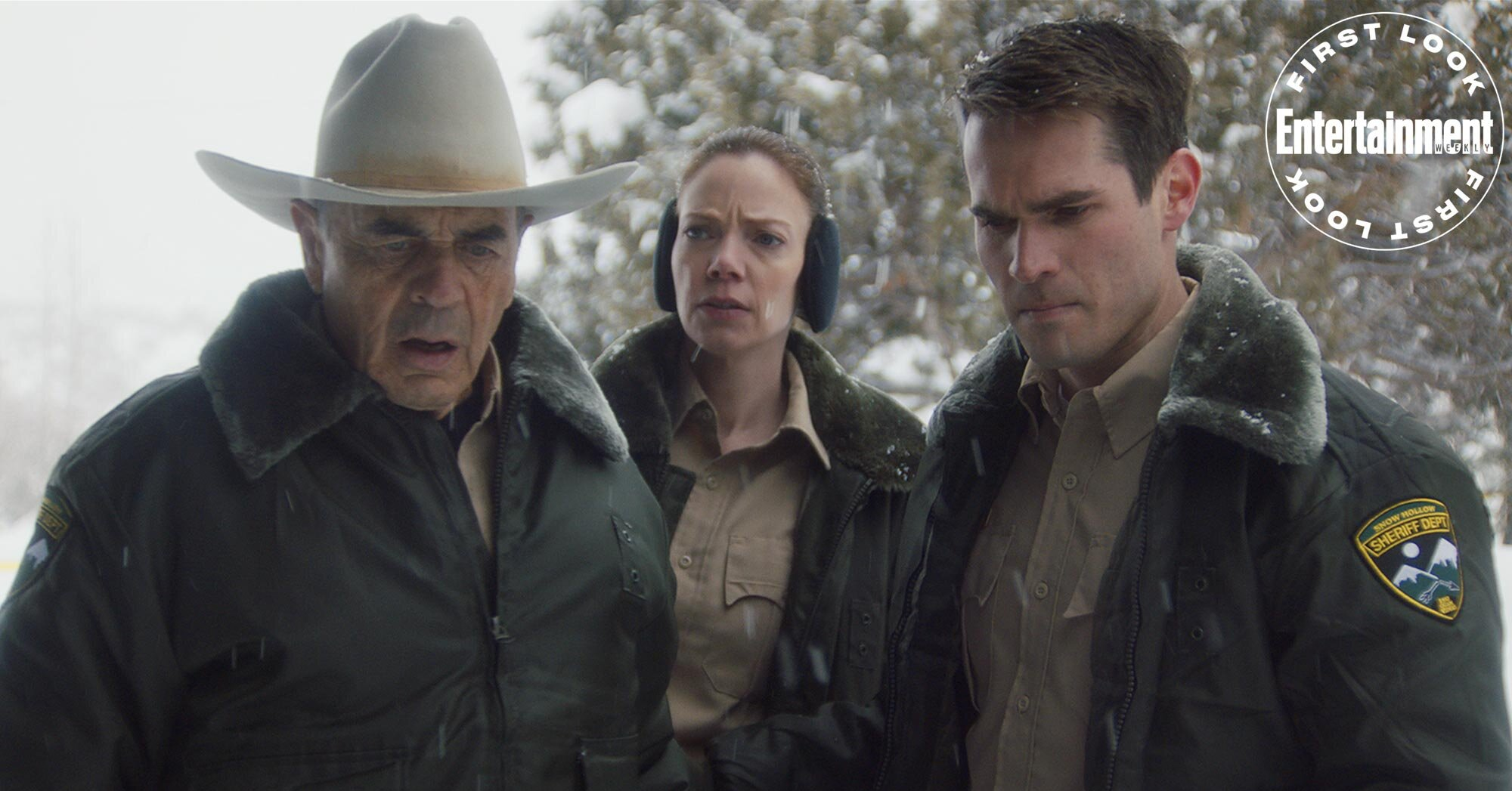 First look at horror-thriller 'The Wolf of Snow Hollow'