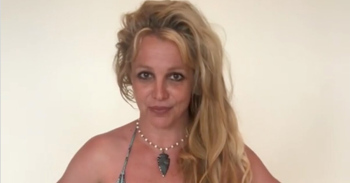 Image Britney Spears Shares Her Beach Day Essentials While Posing in Snakeskin Print String Bikini 8211 PEOPLE