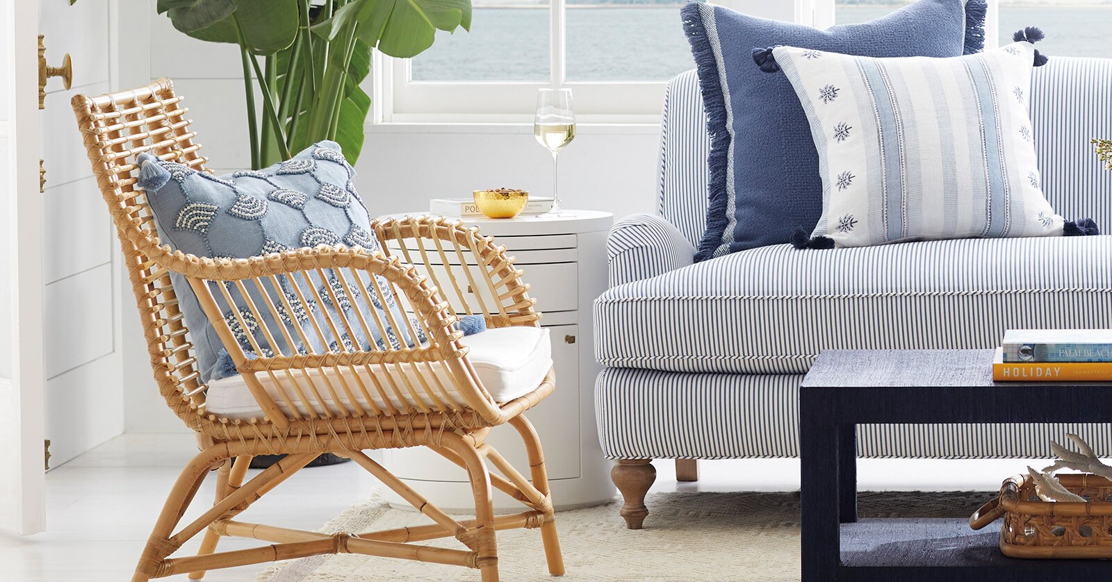 Rattan Furniture is Having a Moment, and We Are All About It