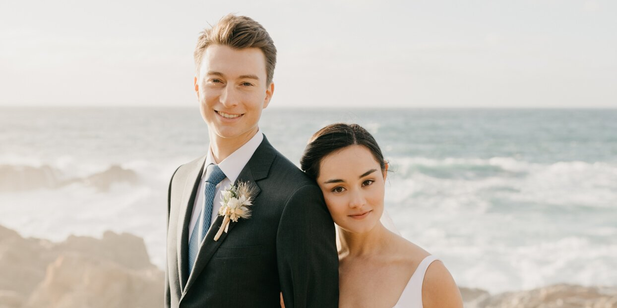 A Romantic Cliffside Wedding with Breathtaking Views of Big Sur