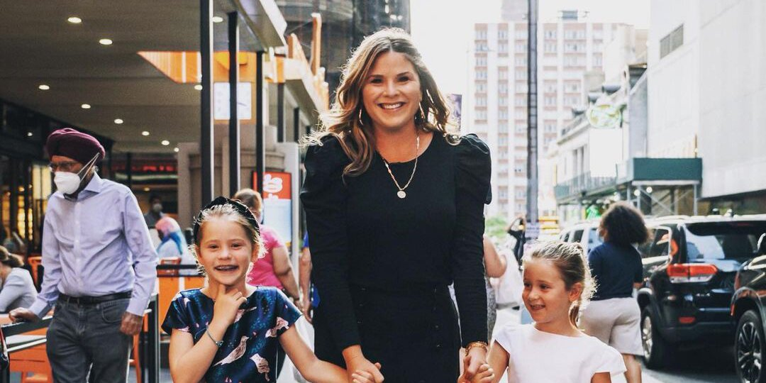 Jenna Bush Hager Steps Out for Opening Night of Broadway with Daughters Poppy, 6, and Mila, 8.jpg