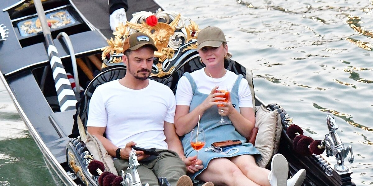 Katy Perry and Orlando Bloom Ride a Gondola in Venice: They 'Seem to Enjoy the City,' Says Source.jpg