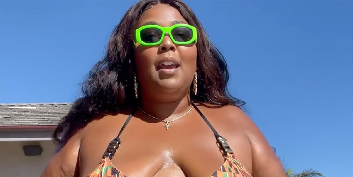 Lizzo Declares 'Big Girl Summer Has Officially Begun' as She Shows Off Her Abs in a Bikini
