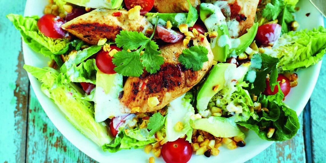 Jerk Chicken Salad Recipe Myrecipes