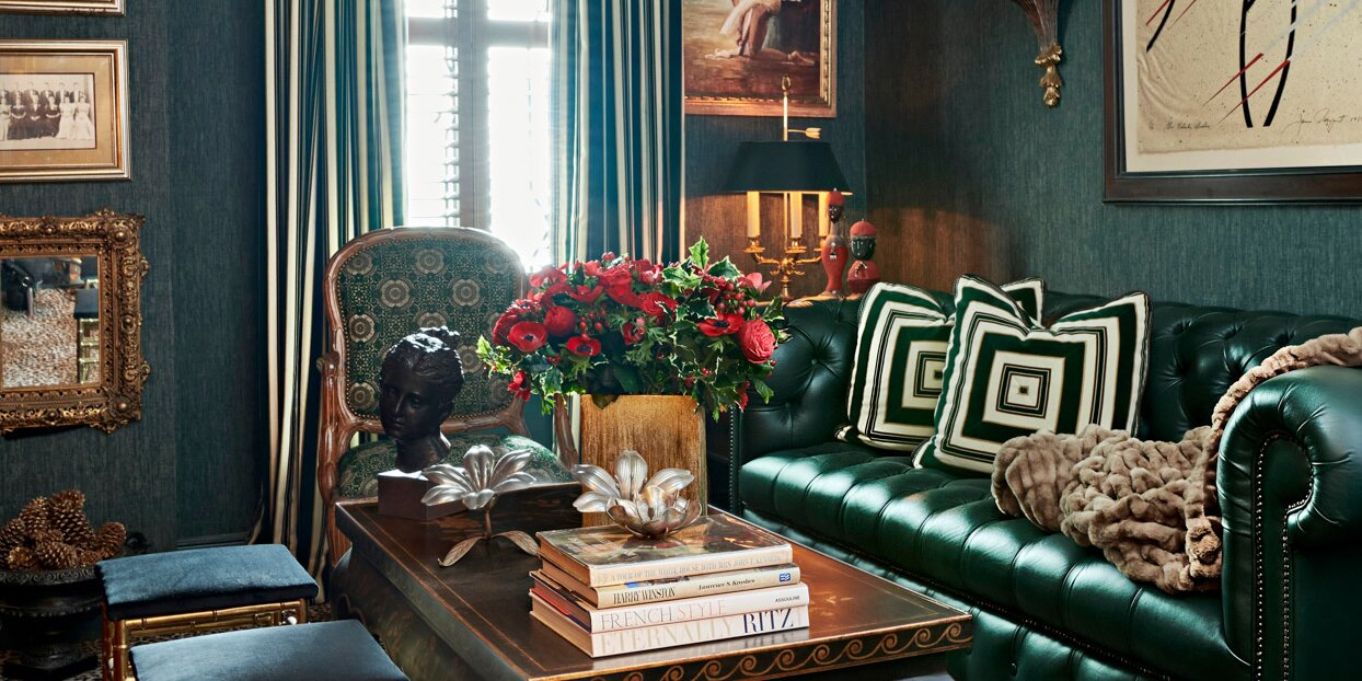 This Fashion Designer's Maximalist Home Is Brimming with Treasured Antiques