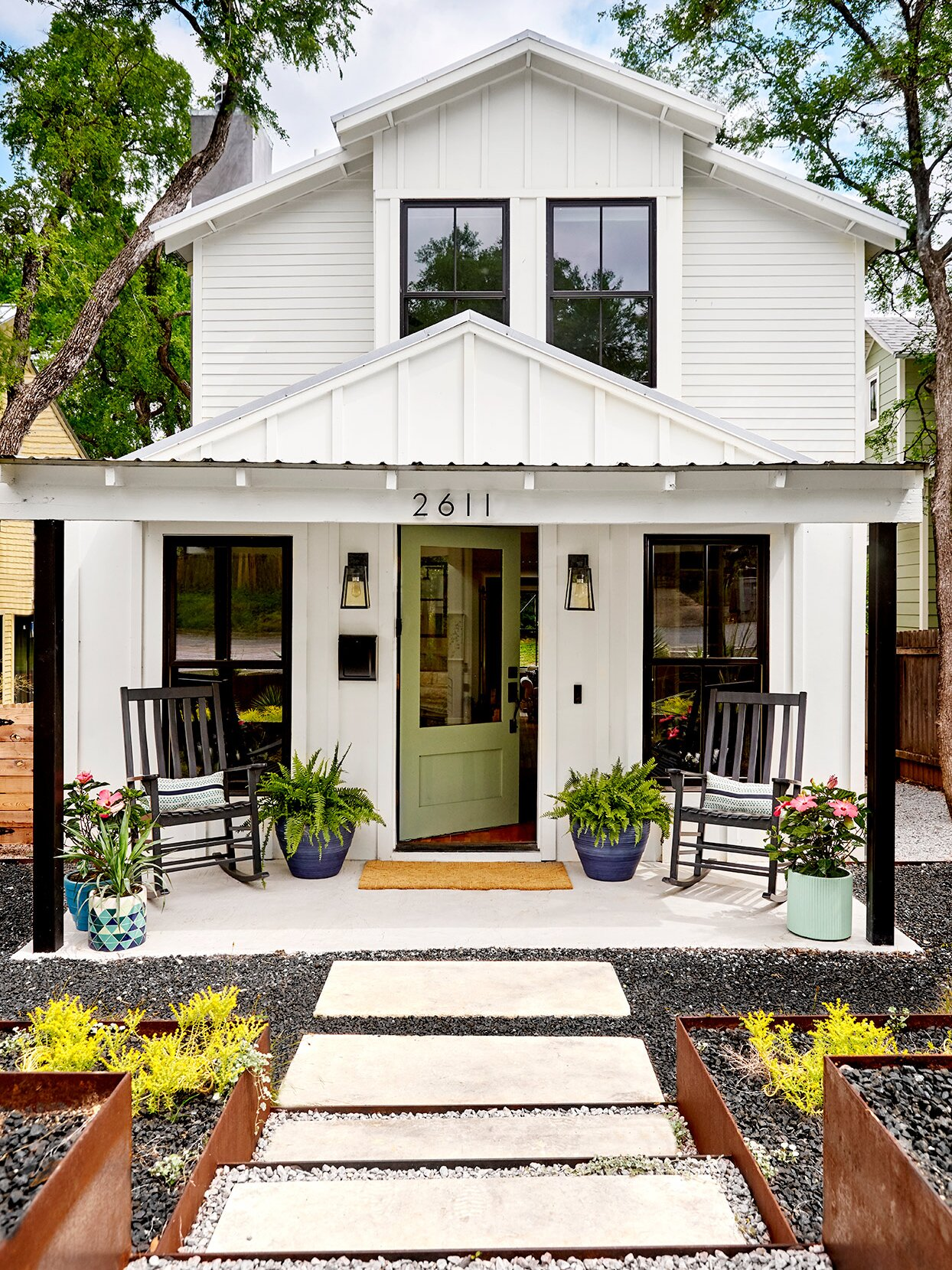 Curb Eal Ideas For Front Porches