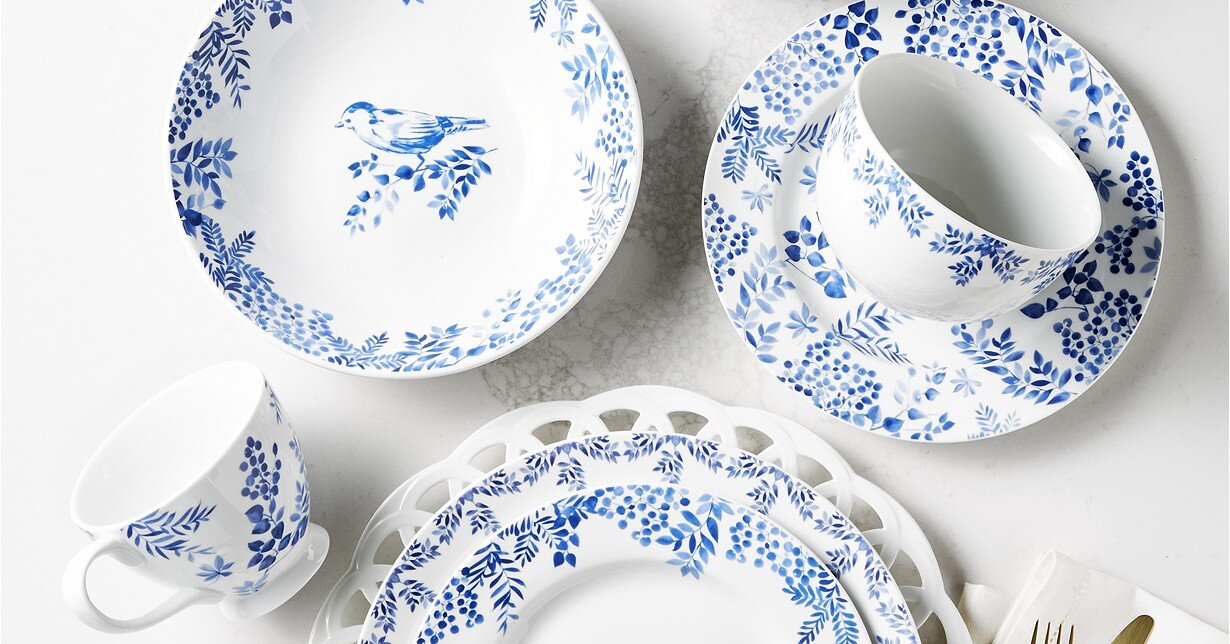The Prettiest Floral and Botanical Dinnerware for Your Next Garden Party