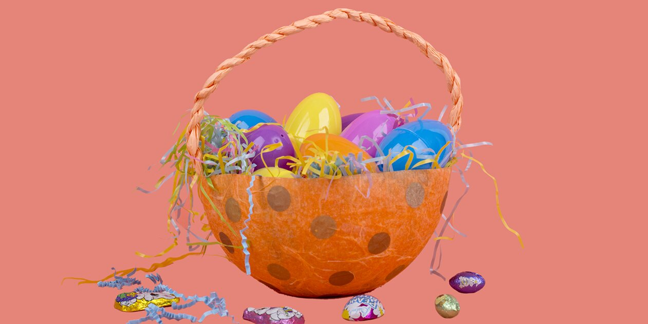 7 Homemade Easter Baskets That Double as Pretty Decorations