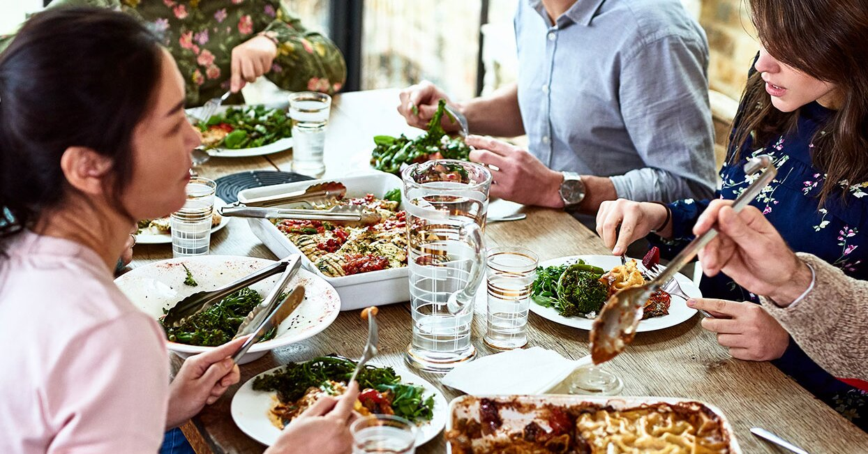 Sharing a Meal with Others Is the Best Form of Quality Time, Survey Reveals