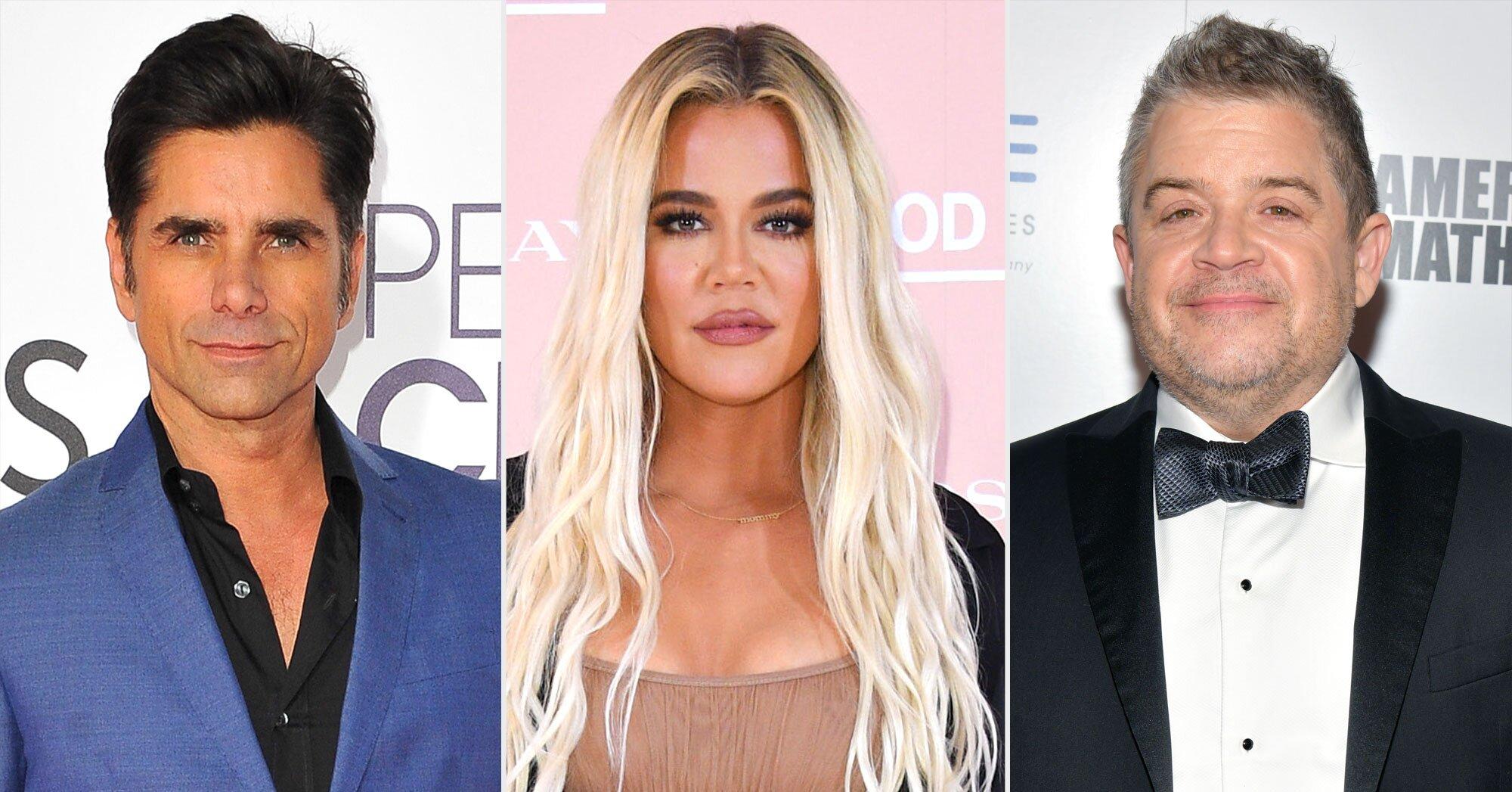 John Stamos, Kelly Clarkson, Patton Oswalt, and more react to California earthquake