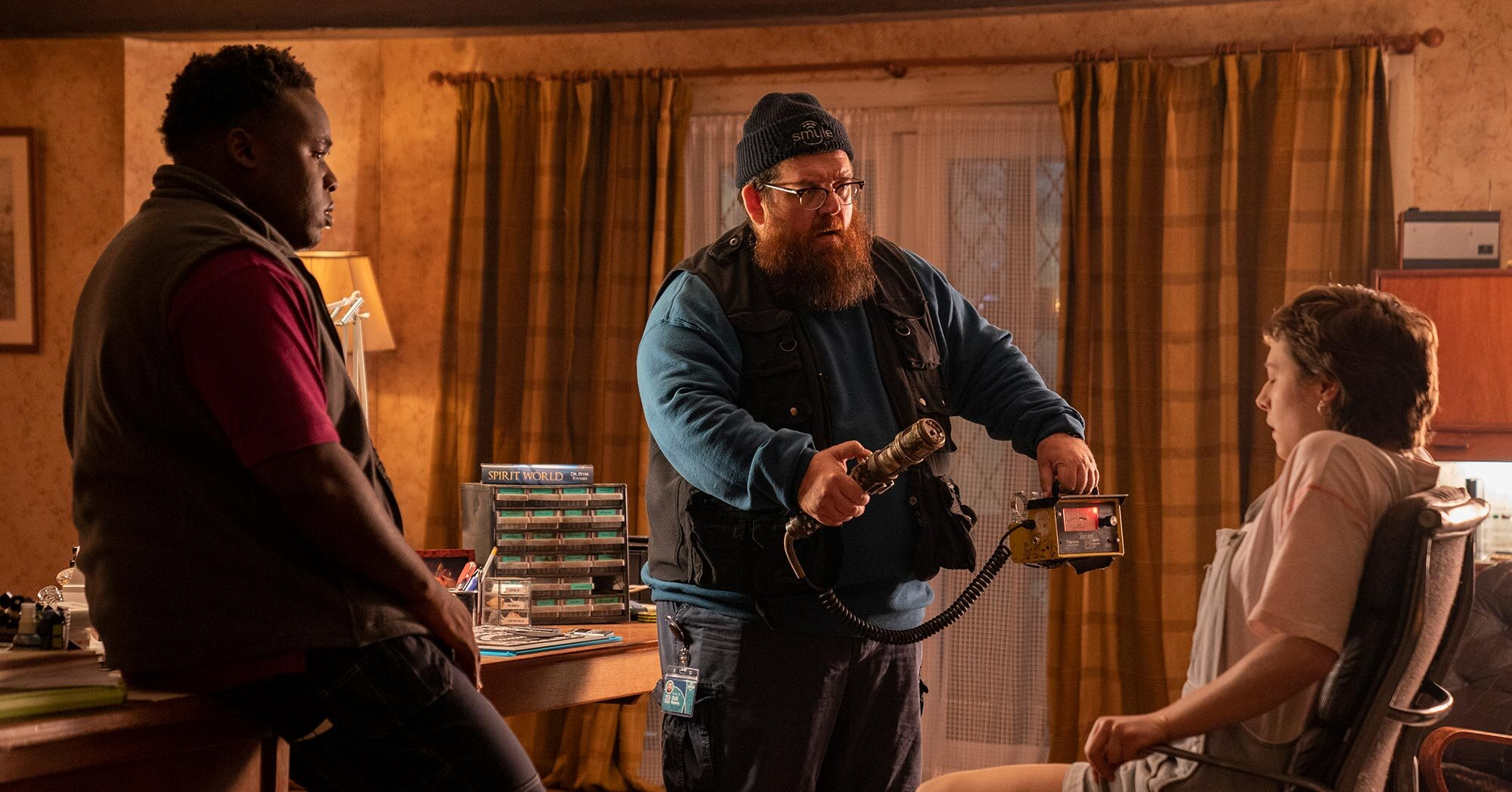 'Truth Seekers' stars Nick Frost and Samson Kayo give us their spooky movie recs