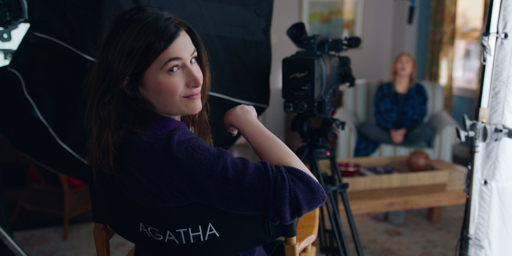 Kathryn Hahn Says Her Kids Were 'Suspiciously Nicer' to Her After Watching WandaVision
