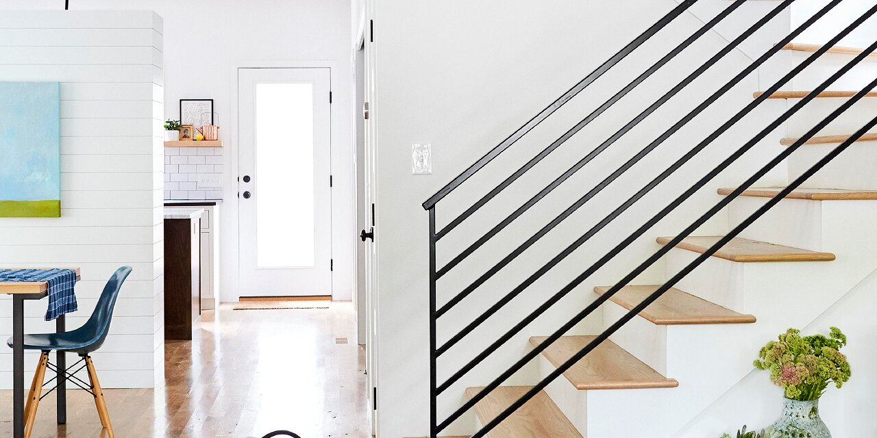 25 Stair Railing Ideas to Elevate Your Home's Style | Better Homes & Gardens