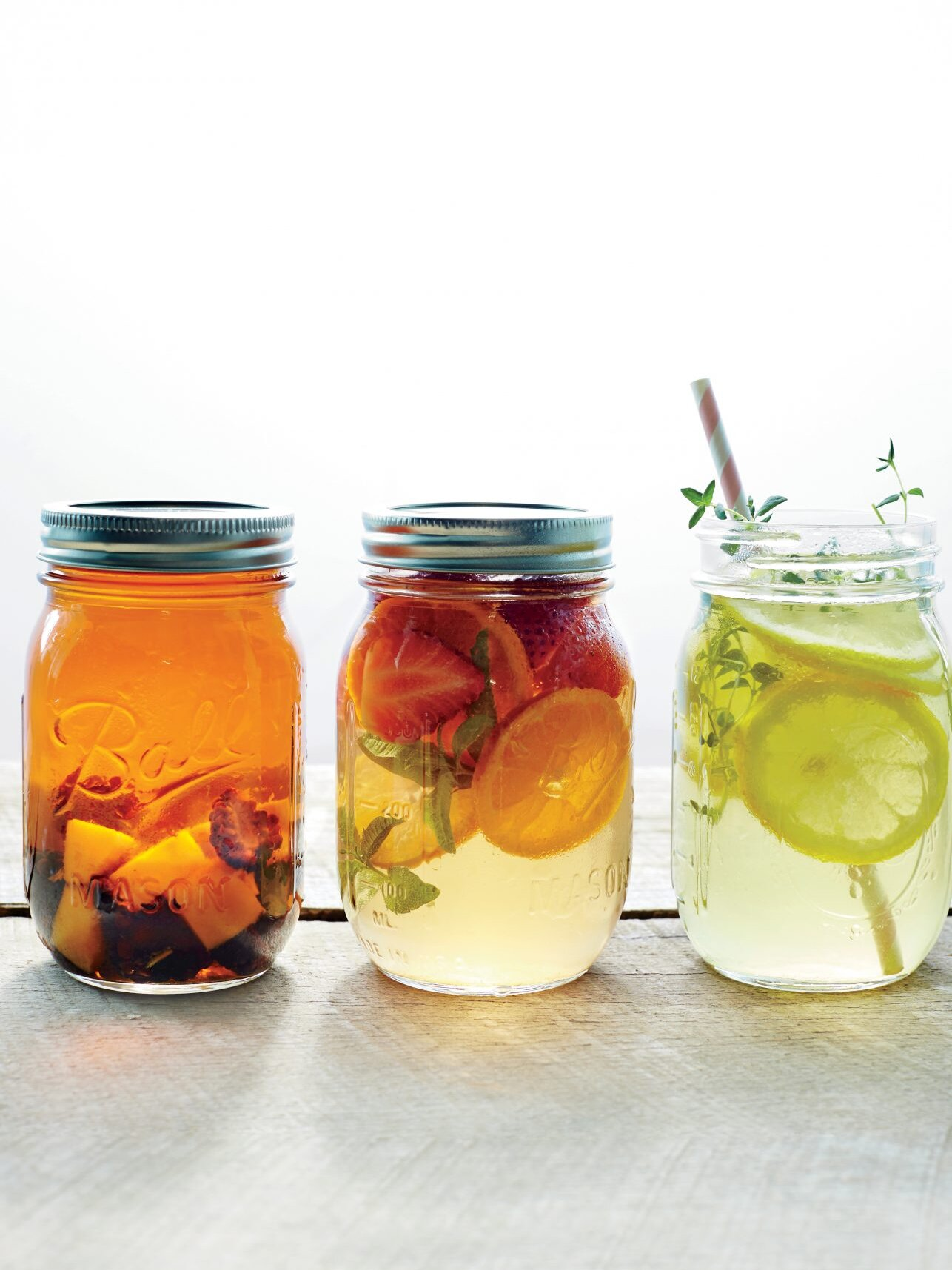 Mason Jar Drink Recipes Myrecipes