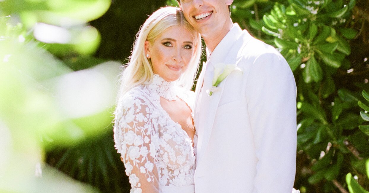 Two Colorful Parties Preceded This Duo's Wedding—Which Had an All-White Color Palette—in Mexico