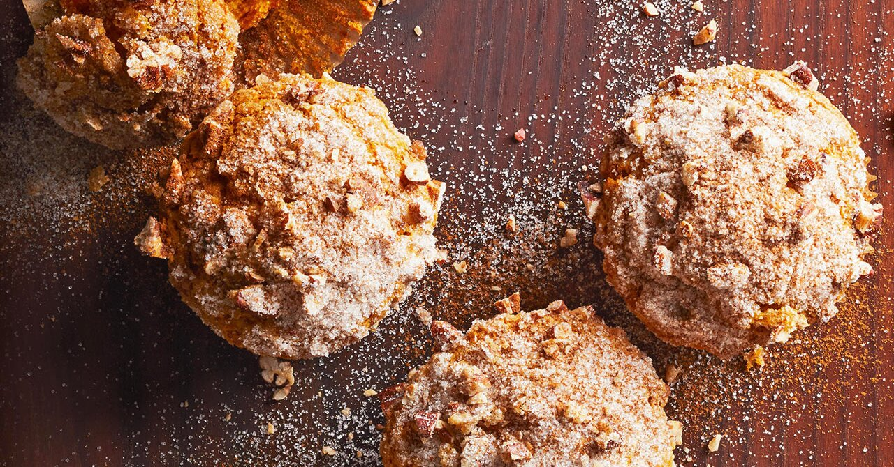 7 Warm and Cozy Pumpkin Muffins to Celebrate Fall