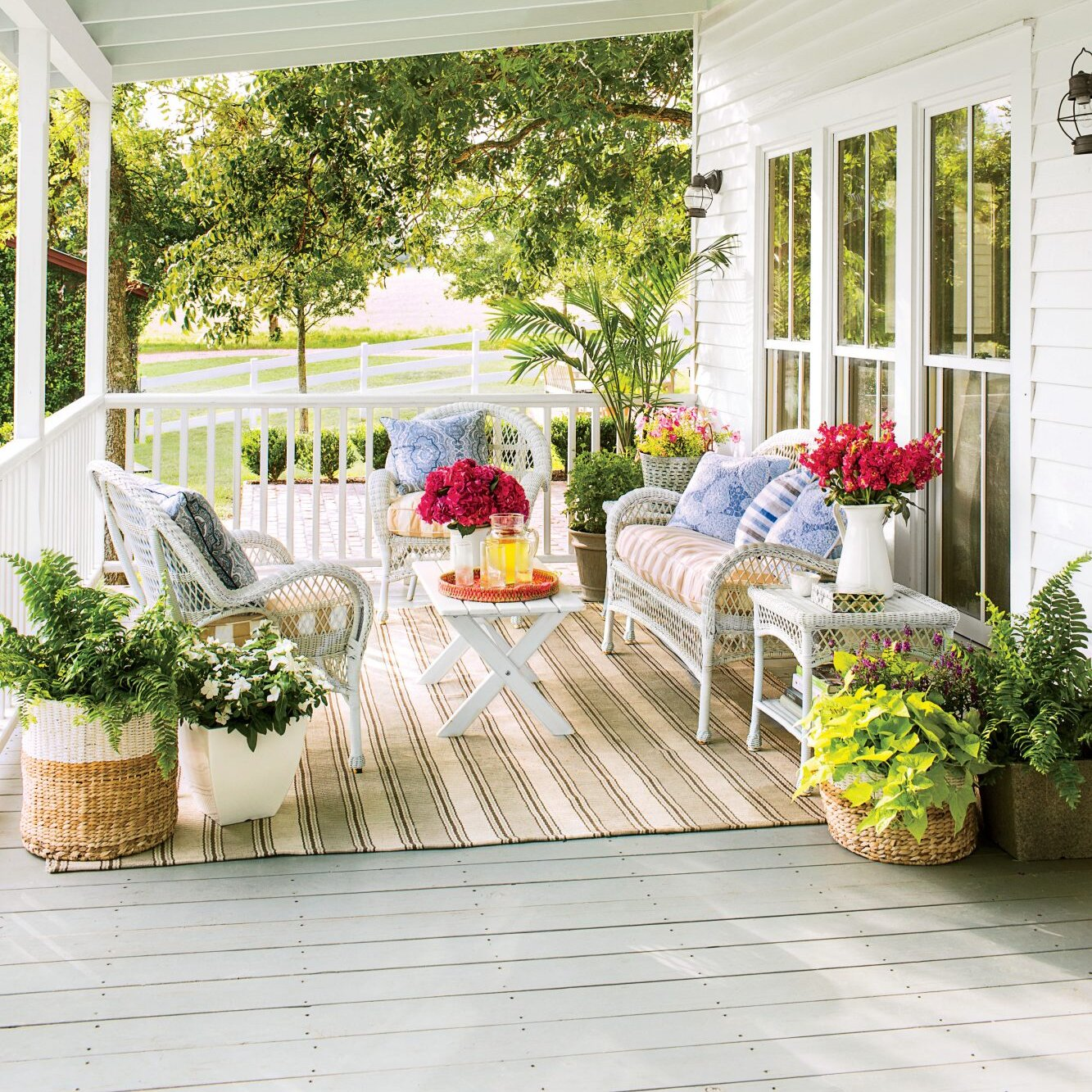 80 Porch And Patio Design Ideas You Ll Love All Season Southern