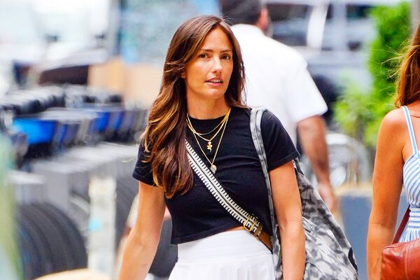 Minka Kelly is Pictured out in New York City After Being Photographed With Trevor Noah.