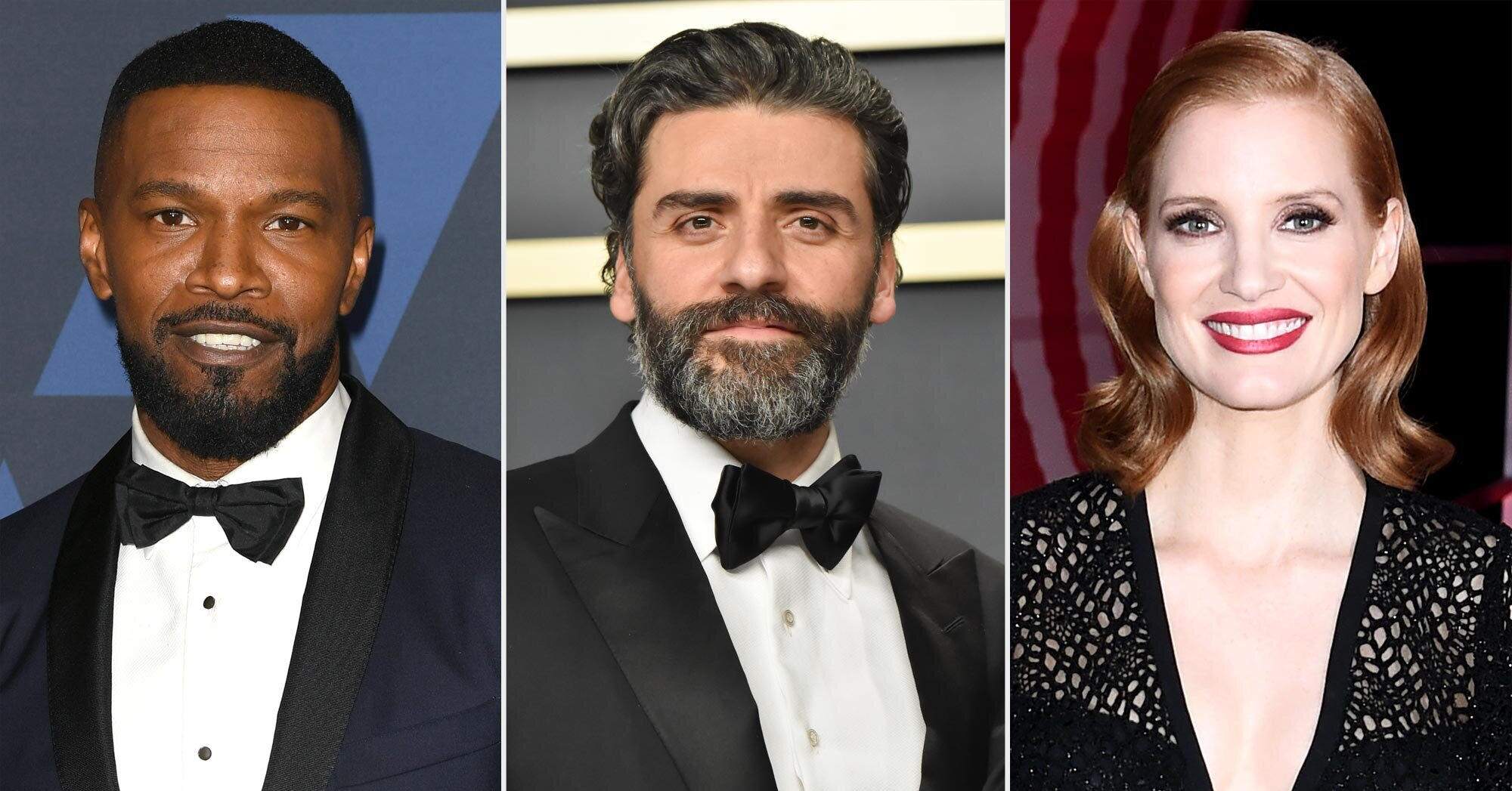 Jamie Foxx, Oscar Isaac, Jessica Chastain, and more reveal their first fandoms