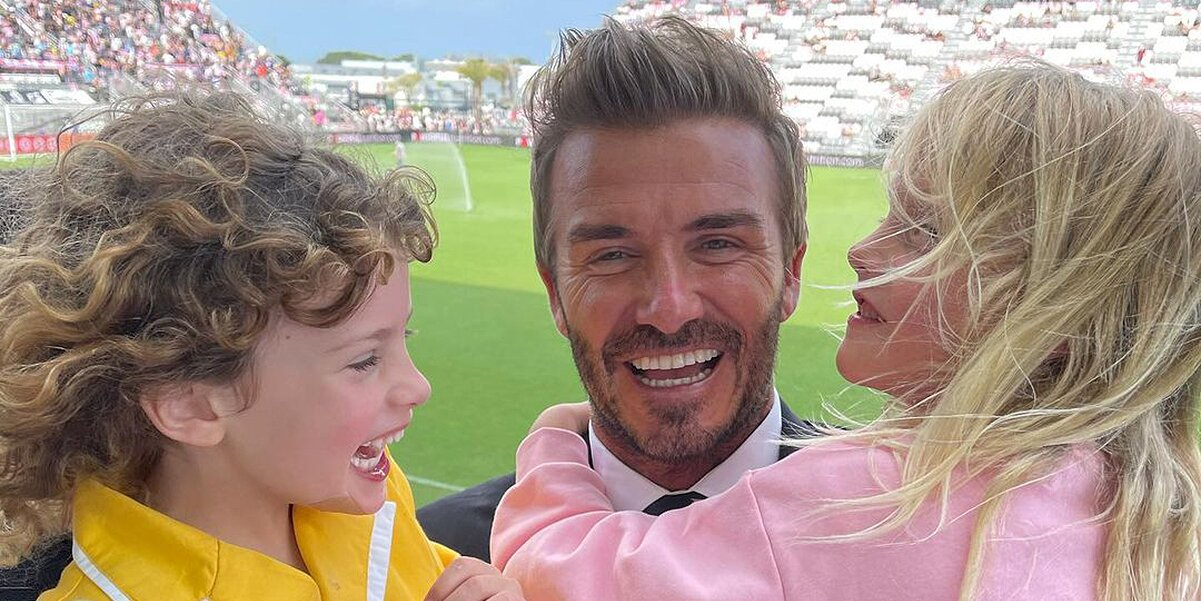 Liv Tyler Shares Snap of Kids Hugging 'Sweet Godfather' David Beckham After Miami Soccer Win