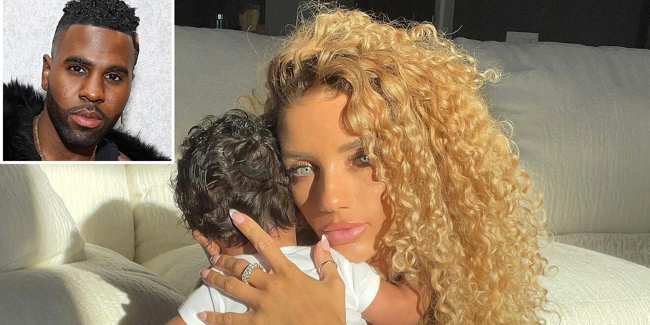 Jena Frumes Promises to Give 4-Month-Old Son 'All the Love I Never Had' After Split from Jason Derulo.jpg