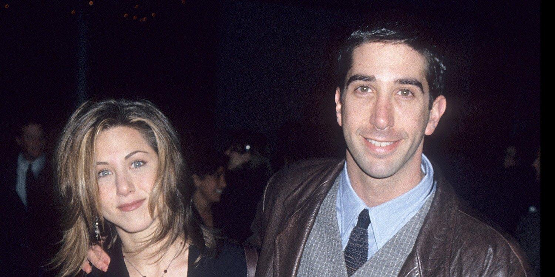 Jennifer Aniston and David Schwimmer had a mutual crush during 'Friends' season 1