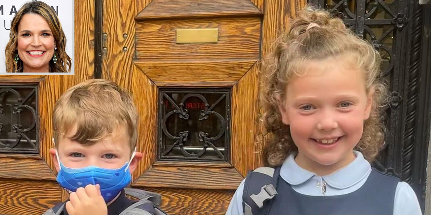 Savannah Guthrie Gets Emotional as Kids Charley and Vale Go Back to School: 'First Day Feels'.jpg