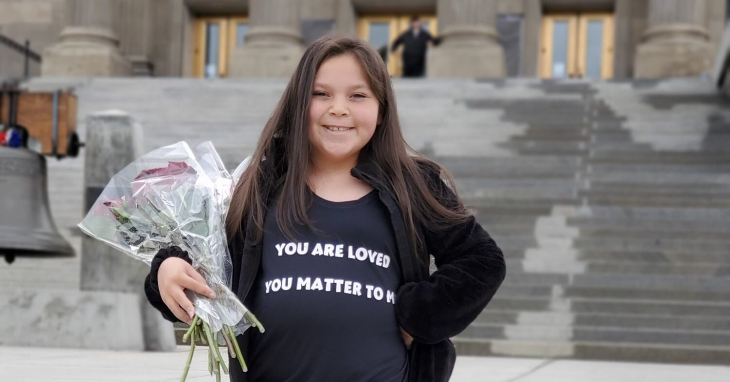 9-Year-Old Girl Starts Kindness Movement to Spread Love and Joy