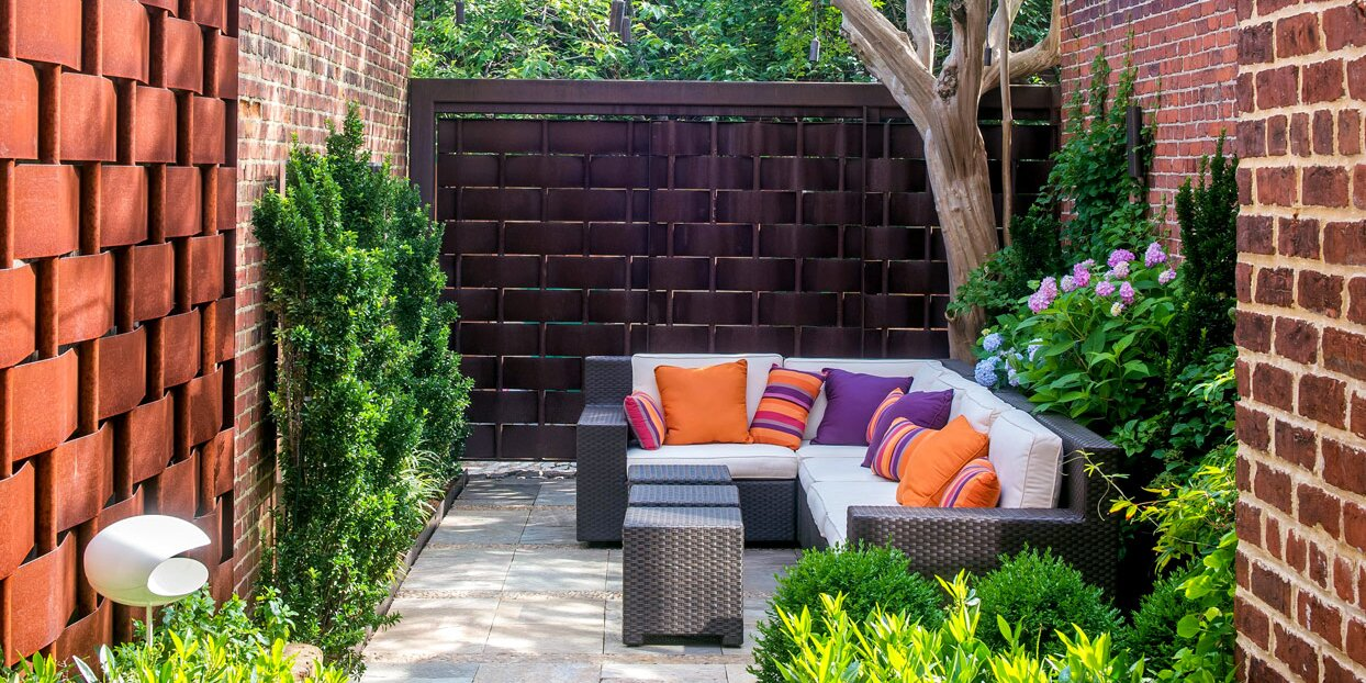 Beautiful Courtyard Ideas For A Private Oasis Better Homes Gardens
