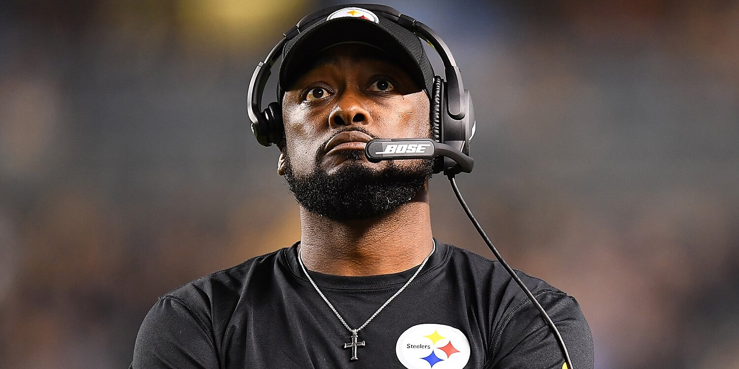 Steelers' Mike Tomlin on Lack of Black NFL Head Coaches: We 'Haven't Been Able to Move the Needle'.jpg