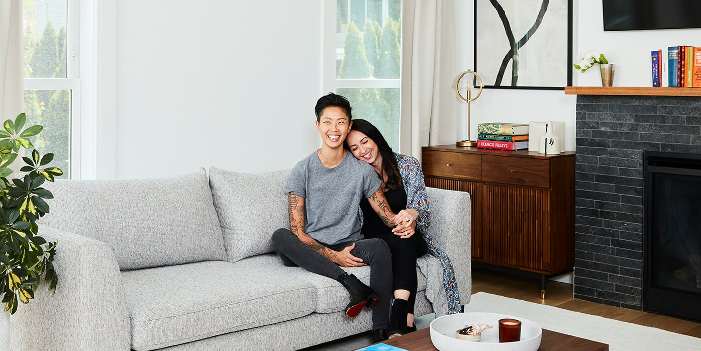 Top Chef's Kristen Kish and Wife Bianca Dusic Give a Tour of Their Minimalist Connecticut Home