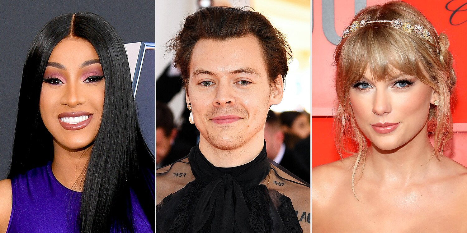 Grammys 2021: Taylor Swift, Cardi B, Harry Styles, BTS, Billie Eilish and More to Perform.jpg