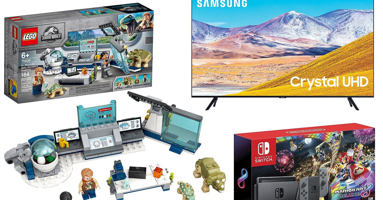 Walmart has incredible savings on 4K TVs Nintendo games and more for Black Friday – Entertainment Weekly