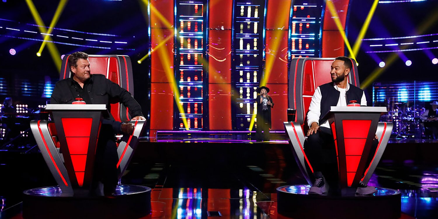 The Voice recap: Come for the four-chair turn, stay for Team Legend's theme song.jpg